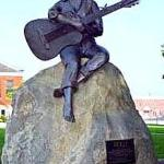 Statue of Dolly Parton. Courthouse Square, Sevierville,TN