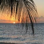 Sunset from Bucuti Beach
