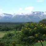 The Drakensberg View from balcony