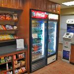 The Market - micro convenience store with ATM off lobby