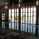 The Spa (indoor heated pool)