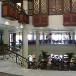 The Lobby (lower level is where breakfast is served)