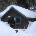 Tamarack Cabin in March