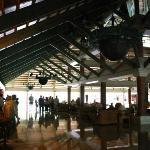 Lobby in main building