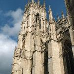 A majestic view of the Minster
