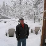A very snowy weekend