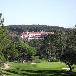 View of Hotel from 17th hole