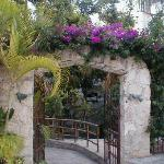 The entrance to the Luna Blue