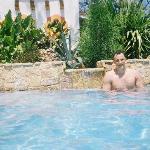 a serene private pool