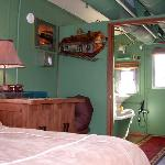 Interior of Caboose