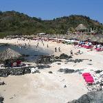 Ixtapa Island - coral beach