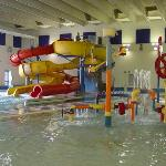 Indoor waterpark and waterslides