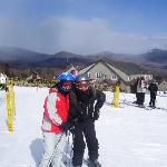 Skiing at Waterville Valley