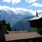 View from  our room - Chalet Fontana