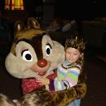 Shady day so Chip & Dale entertained kids with colouring. (for free)
