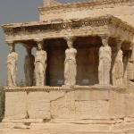 Karyatides Temple/Athens