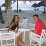 Private Dinner on the beach at Bucuti