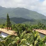 beautiful mountains in Porlamar