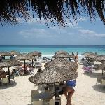 This beach club is about 5 minutes away and free day passes / towels are provided by the...