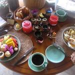 Breakfast each day