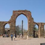 Qutb Minar - Iron Pillar