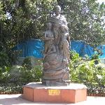 Statue at entrance to Birla House