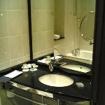 The bathroom (part)