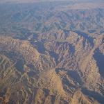 Sinai mountains - we took this from the window in our plane