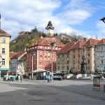 Main square in Graz