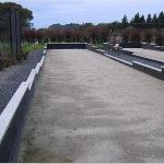 Bocce Courts Out Back