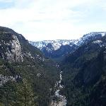 Our First View of Yosemite Valley