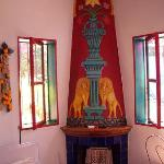 Room 5 fireplace