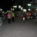 The row of shophouses