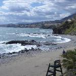 The western beach
