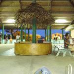 Aitutaki airport departure lounge