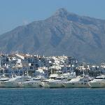 Puerto Banus Marina, Mountain View