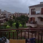 view from balcony (although cloudy)