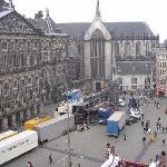 Dam square getting ready 4 fair