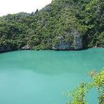 Angthong Marine Park, Emerald Lake