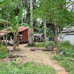 Angthong Marine Park, village we visited