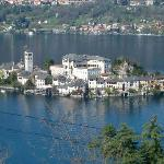 St Gulio's Island in Orta Lake