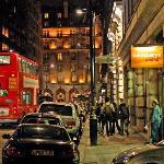 Berkely Street at Night