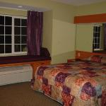 My room - note window seat