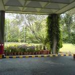 Driveway of Avari Lahore