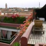 Riad el Zohar terrace and view