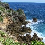 View from one of the cliffs over Frenchman's
