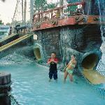 Great water ship, shallow water fun