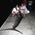 Caught off of Quepos... 10ft 550lbs Black Marlin