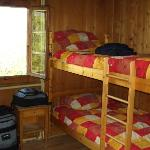 One of the rooms at Chalet Martin