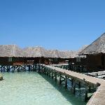 Walkway to Water Villas